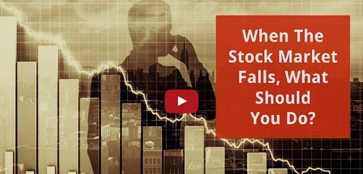 When The Stock Market Falls, What Should You Do?