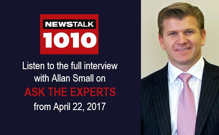 Newstalk 1010 – Ask The Experts Program