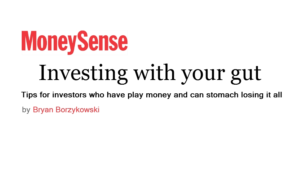 Money Sense – Investing With Your Gut