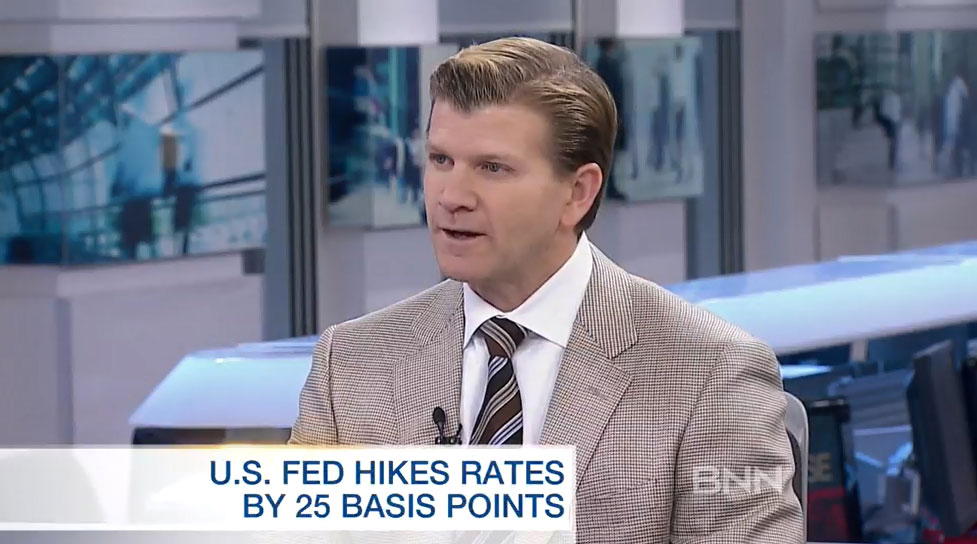 BNN Interview – Expect At Least Two Or More Interest Rate Increases By The Federal Reserve In 2018