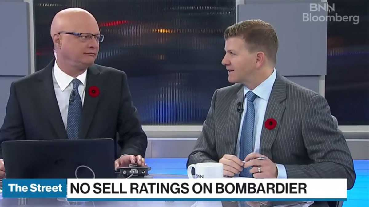 BNN Bloomberg – Oil Under Pressure And No Sell Ratings On Bombardier