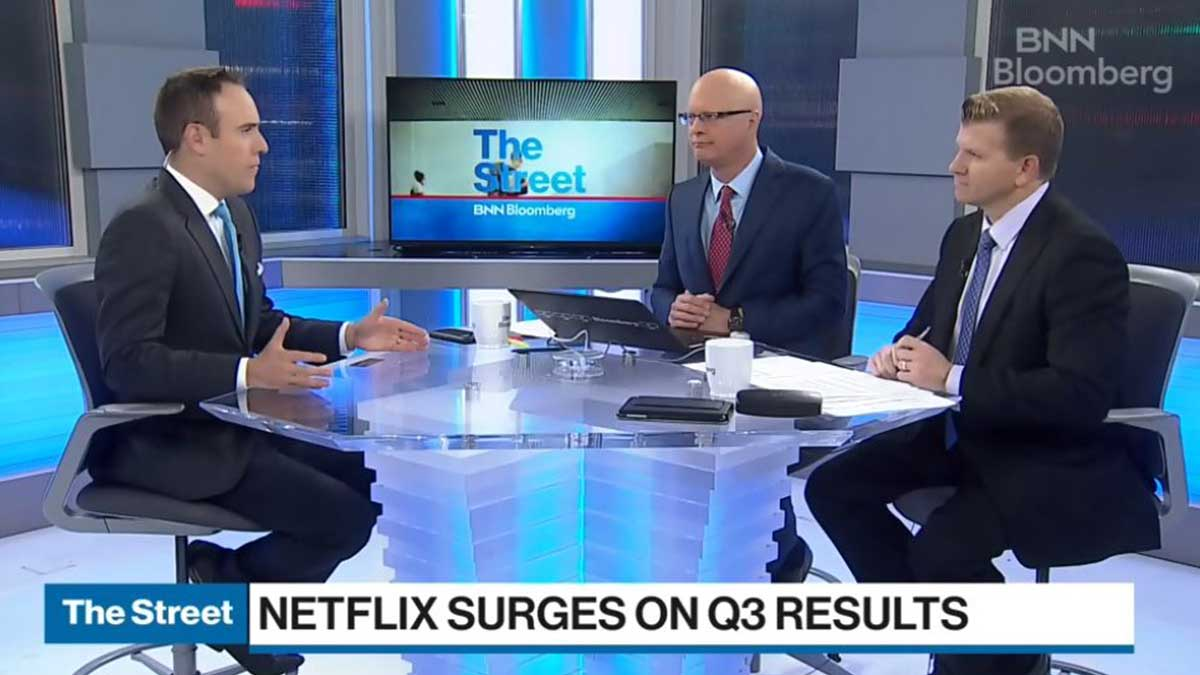 BNN Bloomberg – Netflix Sees More Subscribers In Third Quarter