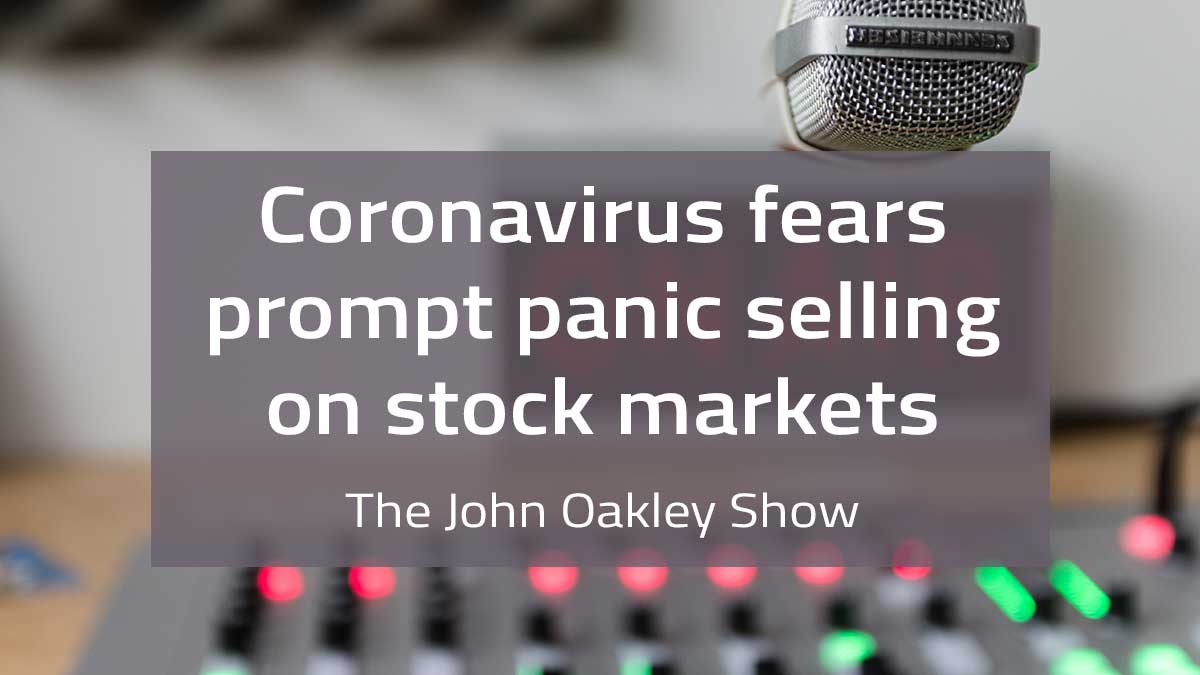AM 640 – Coronavirus Fears Prompt Panic Selling On Stock Markets