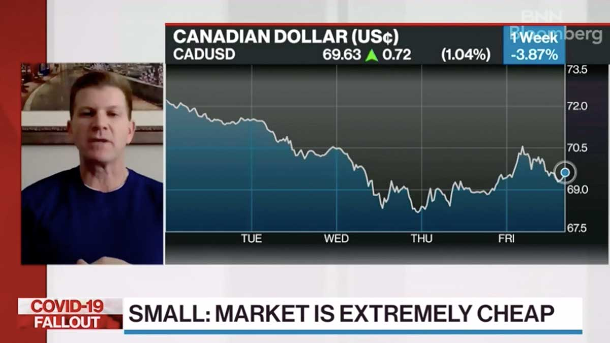 BNN Bloomberg – Markets Are Extremely Cheap